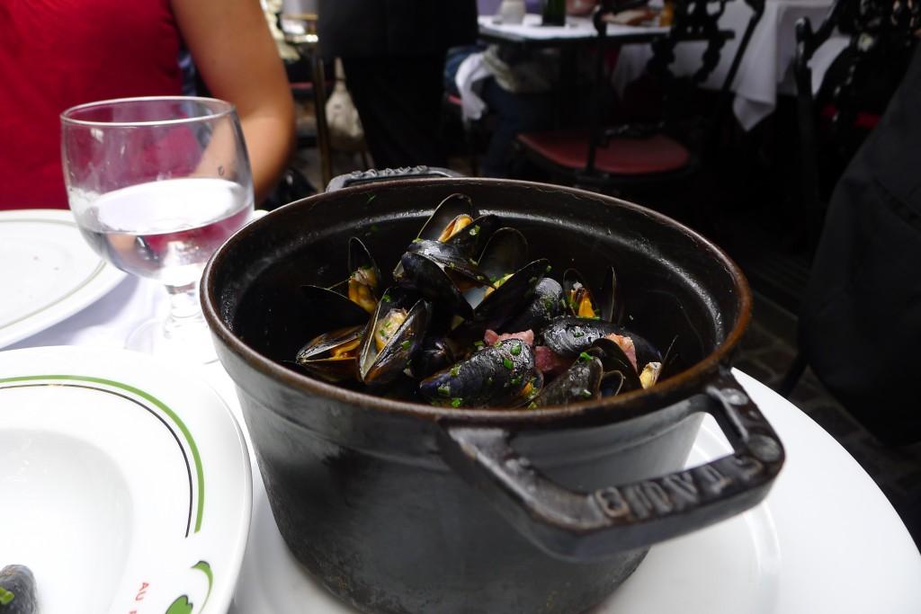 Mussels- Au Pied du Couchon