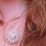 Silver necklace from Estonia