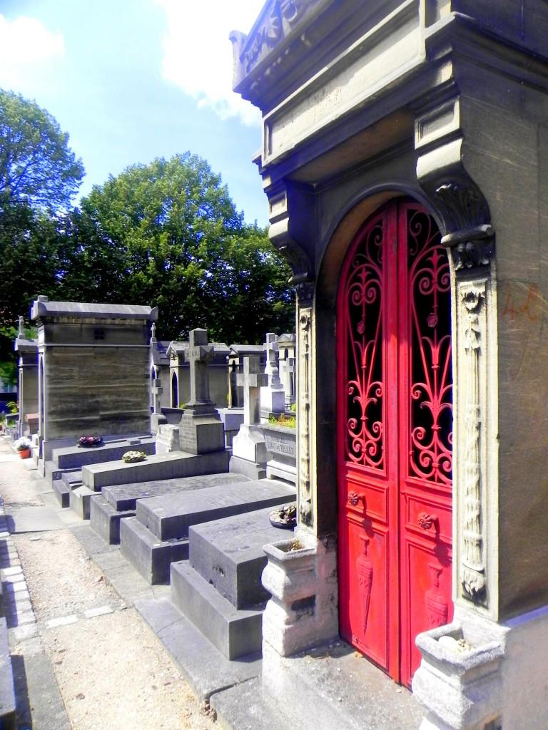 Père Lachaise Cemetery. Paris, France