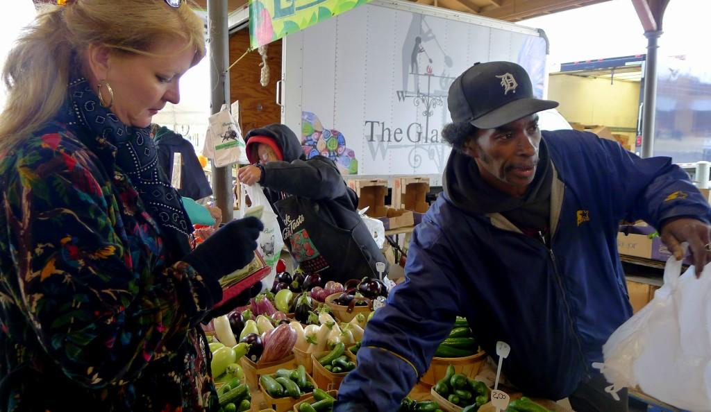 Detroit Eastern Market vendor