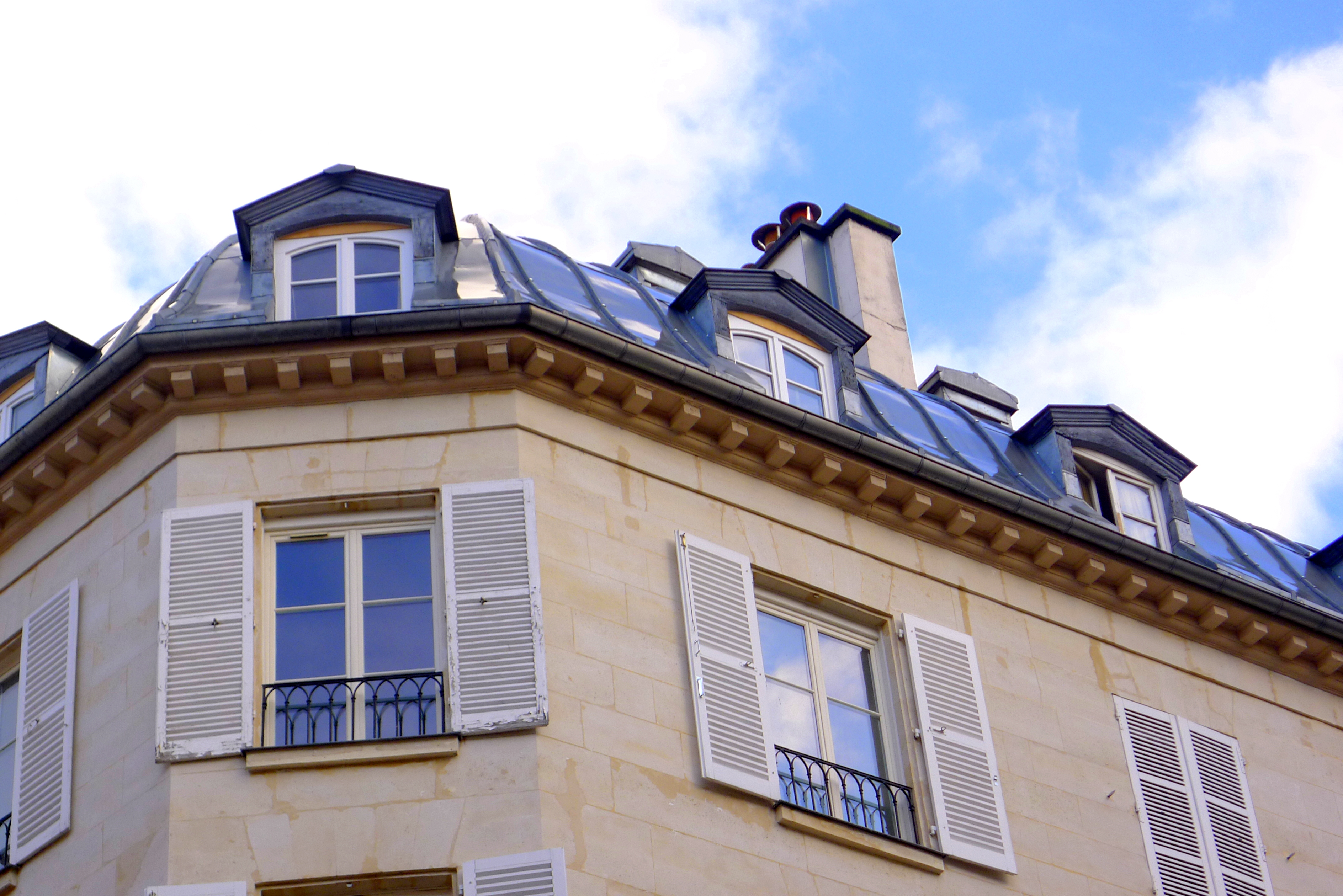 Saturday snapshot 6 for French mansard roof