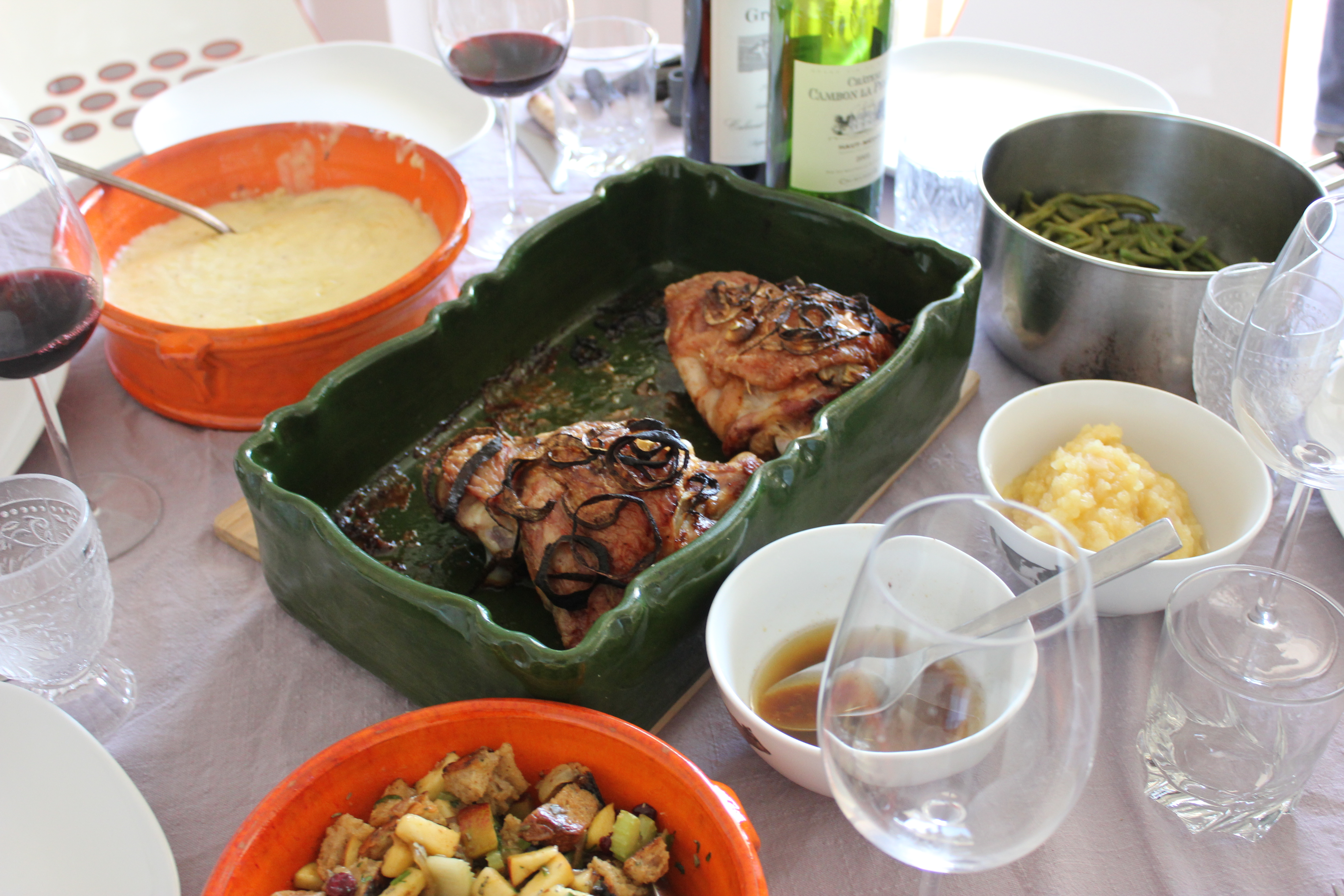 A Miracle Thanksgiving in France