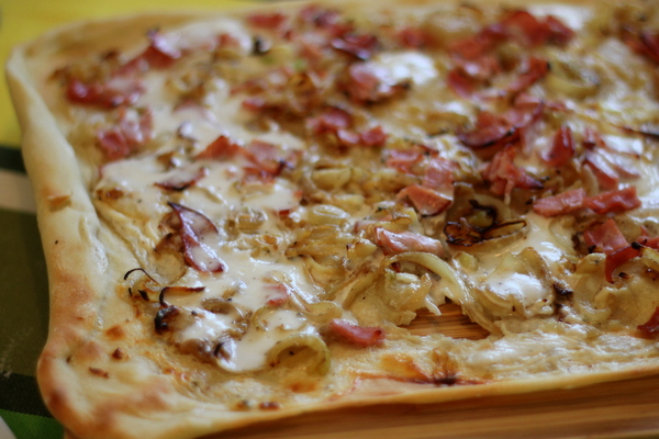 Tarte flambee recipe