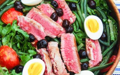 Protein-Packed Salade Niçoise with Seared Ahi Tuna