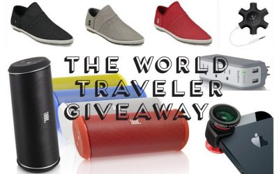The World Traveler Giveaway! JBL Speaker, olloclip iPhone Camera & More