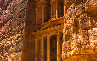 My Favorite Jordan Experience: Petra by Night and by Day