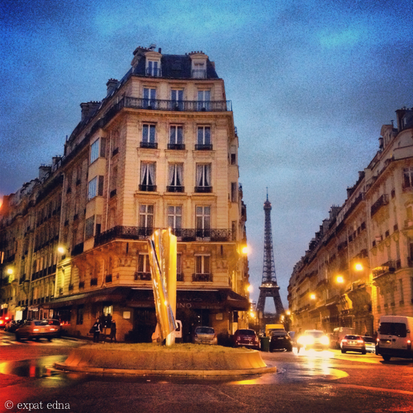 Blue hour in the 16eme by Expat Edna
