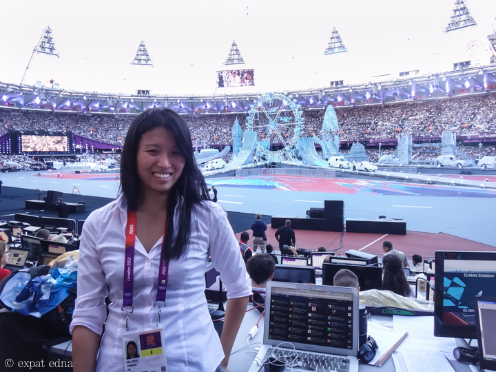 London 2012 Closing Ceremony by Expat Edna