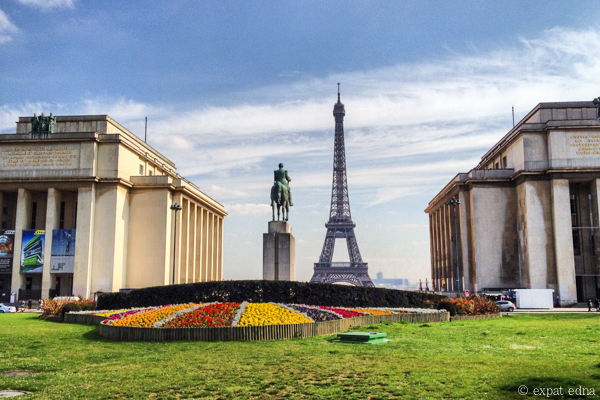 Trocadero in Spring by Expat Edna