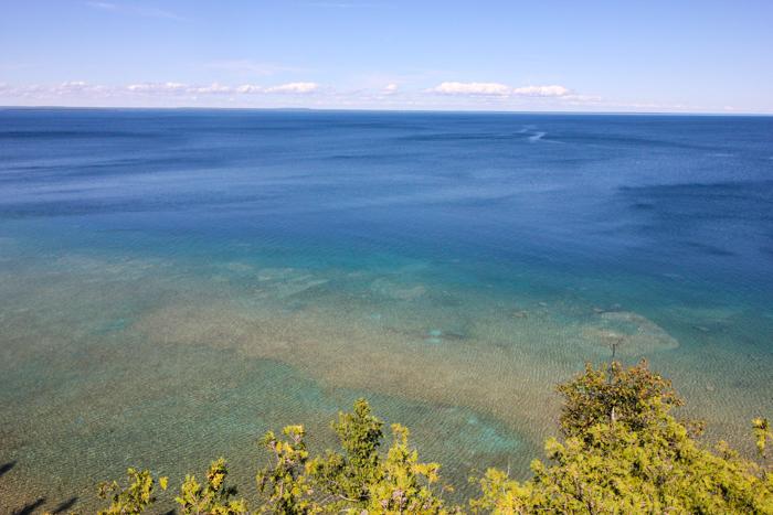 Mackinac Island Water- So Blue!