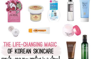 The Life-changing Magic of Korean Skincare