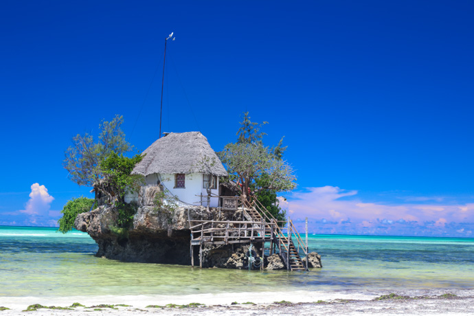 The Rock Restaurant on Zanzibar