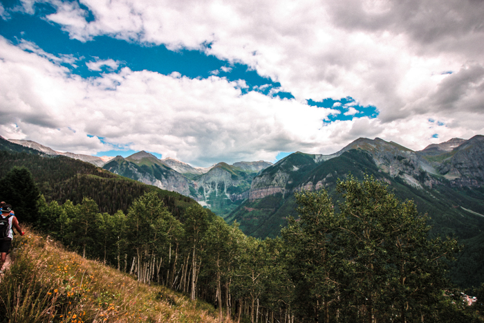 Beautiful Telluride, Colorado in the Summer