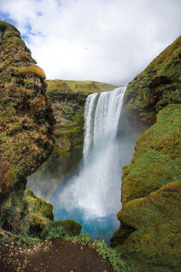 Waterfalls Near Reyjavik